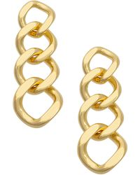 Uncommon James by Kristin Cavallari Reign Drop Earrings - Metallic