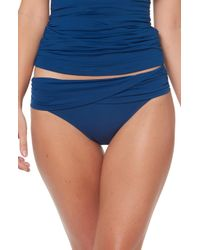 Bleu Rod Beattie - Sarong Hipster Bikini Bottoms - Lyst