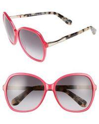 Kate Spade - Jolyn 58mm Sunglasses - Lyst