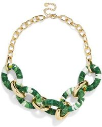 BaubleBar - Juniper Linked Statement Necklace - Lyst