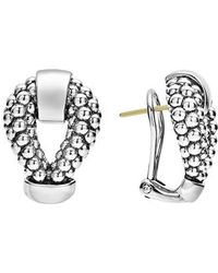 Lagos - Derby Caviar Stud Earrings - Lyst