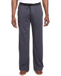 Daniel Buchler Peruvian Pima Cotton Lounge Pants - Grey