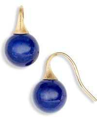Marco Bicego Africa Turquoise Drop Earrings - Blue