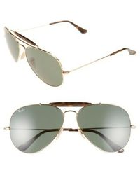 Ray-Ban - 'outdoorsman Ii' 62mm Sunglasses - Lyst
