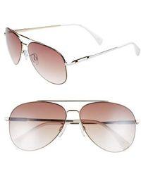 Seafolly - Hiva Oa 58mm Aviator Sunglasses - - Lyst