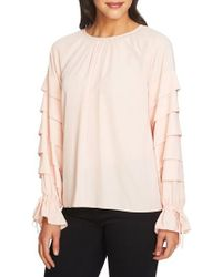 1.STATE   Tiered Sleeve Top   Lyst