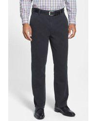 Cutter & Buck - Curtis Flat Front Five-pocket Cotton Twill Pants - Lyst