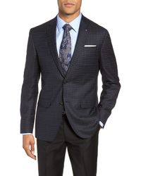 Ted Baker - Jay 2b Trim Fit Plaid Wool Sport Coat - Lyst
