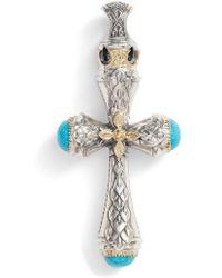 Konstantino - Heonos Turquoise Cross - Lyst