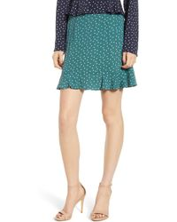 The Fifth Label - Amore Heart Print Miniskirt - Lyst