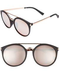 Jack Spade Bryant 52mm Rectangle Sunglasses in Black - Lyst