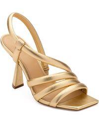 MERCEDES CASTILLO Aline Strappy Sandal - Metallic