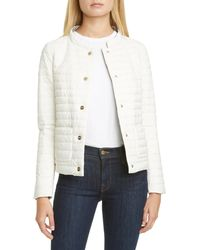 Herno Reversible Matte/classic Down Jacket - White