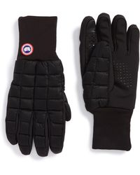 Canada Goose Northern Liner Gloves - Black