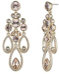 Givenchy - Drama Chandelier Crystal Earrings - Lyst