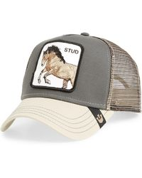 303b46100015c Goorin Bros You Stud Trucker Hat in Gray for Men - Save 17% - Lyst