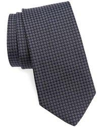 John Varvatos - Check Silk Tie - Lyst