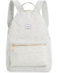 Herschel Supply Co. Nova Mid Volume Backpack - Gray