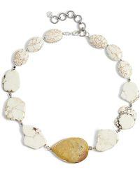 Nakamol - Chunky Stone Necklace - Lyst