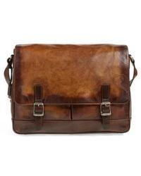 Frye | 'oliver' Leather Messenger Bag | Lyst