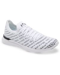 Athletic Propulsion Labs Techloom Wave Hybrid Running Shoe - White