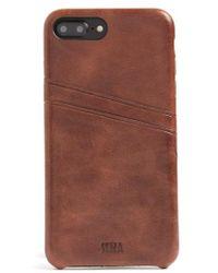 Sena - Iphone 7 Plus Snap-on Wallet Case - Lyst