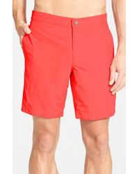 Boto - 'aruba - Island' Tailored Fit 8.5 Inch Board Shorts - Lyst