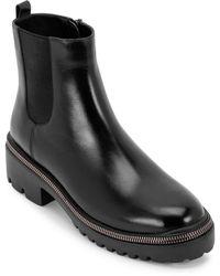Blondo Claire Zip Welt Waterproof Boot - Black
