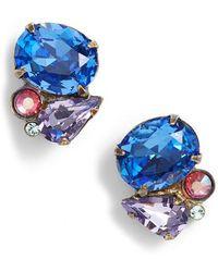 Sorrelli - Mayflower Crystal Earrings - Lyst