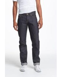 Naked & Famous - Weird Guy Slim Fit Selvedge Jeans - Lyst