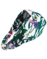 Cara | Floral Garden Print Head Wrap | Lyst