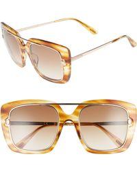 0ab738187abd Tom Ford - Marissa 52mm Sunglasses - Light Brown  Gradient Brown - Lyst
