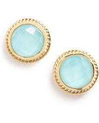 Anna Beck - Stone Stud Earrings - Lyst