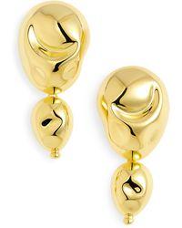 Monica Sordo Drop Earrings - Metallic