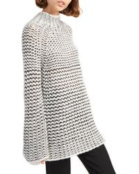 French Connection - Zoe Chunky Sweater - Lyst