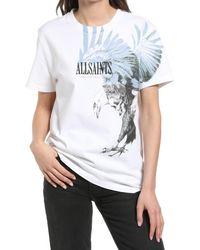 AllSaints Women's Aquila Graphic Tee - White