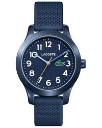 Lacoste | 12.12 Silicone Strap Watch | Lyst
