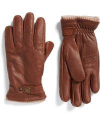 Hestra Utsjo Leather Gloves - Brown
