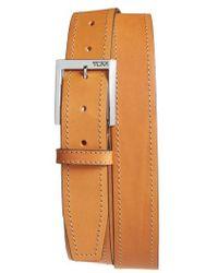 Tumi - Leather Belt - Lyst