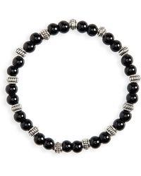 Nordstrom Beaded Bracelet - Black