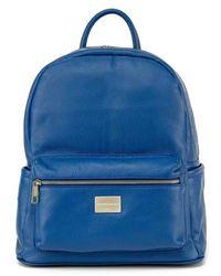 Montezemolo - Leather Backpack - - Lyst
