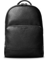 Shinola Fulton Leather Backpack - Black