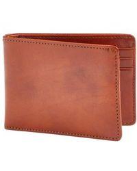 Bosca | Small Bifold Wallet | Lyst