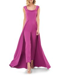 Kay Unger Jumpsuit Gown - Pink