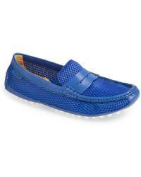 Cole Haan 'grant Canoe' Penny Loafer - Blue