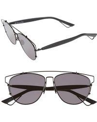 8a1b7450254 Lyst - Dior Technologic 57mm Pantos Sunglasses in Metallic