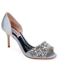 Badgley Mischka - Hansen Crystal Embellished Sandal - Lyst