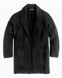 J.Crew | J.crew Open Front Sweater Blazer | Lyst
