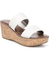 0213d7b16fe Women's Rydell Cork Wedge Heel Sandals - White