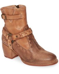 Bed Stu Octane 2 Western Boot - Brown